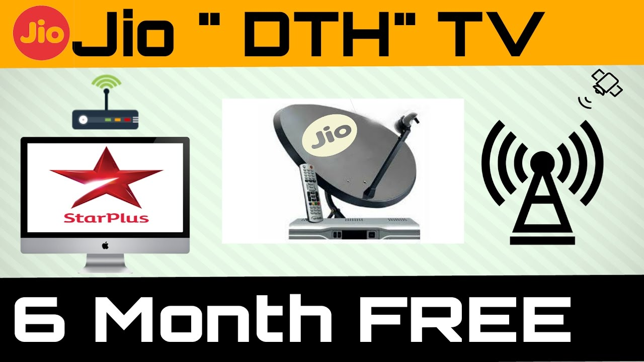 Jio Dth Tv Free For 6 Month Vodafone New Offer Youtube