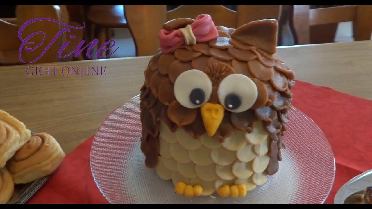 Eulen torte selber backen  Appetitlich FotoBlog fr Sie