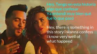 Luis Fonsi ,demi Lovato Echame La Culpa Song S English + Spanish