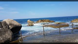 광진리해안가 의 시원한바다 가그리워지는 양양바닷가 중에…