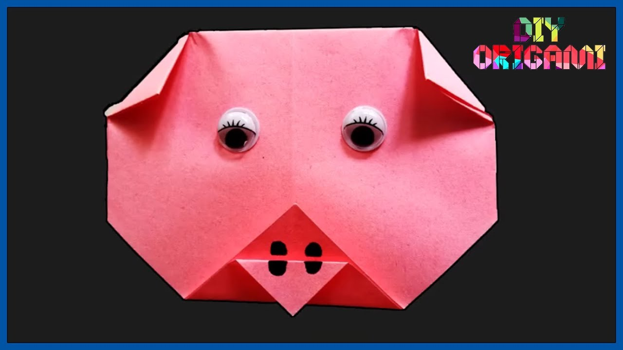20 Playful Pink Pig Crafts for Kids | Chinese New Year of the Pig ... | 720x1280