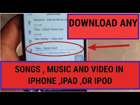 music downloader for iphone, pad ,or ipod (best application for music ,videos and songs downloading)