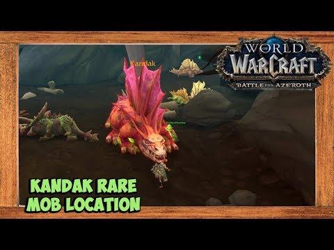 World of Warcraft Kandak Rare Mob Location