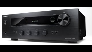 unboxing onkyo tx8020 stereo receiver