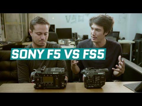 Sony F5 vs FS5 Camera Review