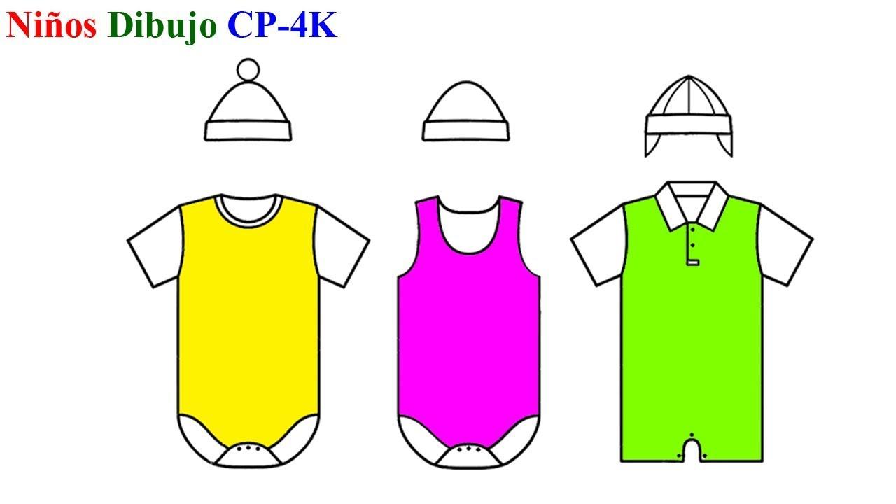 Establecer Sombreros Y Ropa Para Colorear Libro Cómo Dibujar Sombreros Y Ropa Para Niños