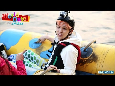 [World Date with SHINee] Riding Flying Fish!