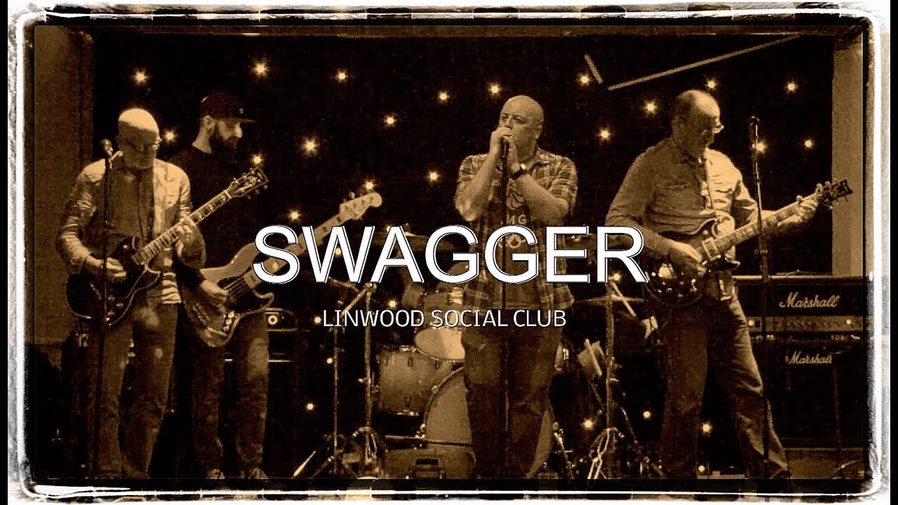 Paisley's Popular Rock Band Swagger Playing Live Linwood Social Club