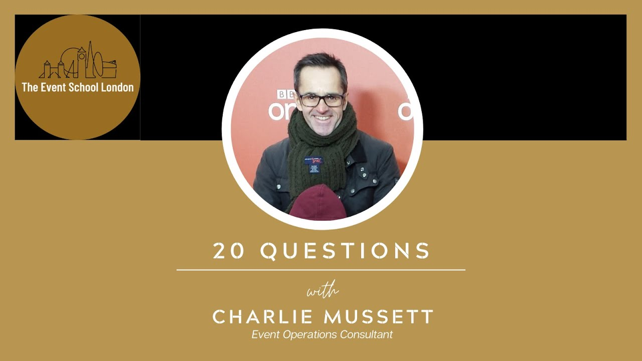 20 Questions with Major Events, Operations and Safety Specialist, Charlie Mussett.