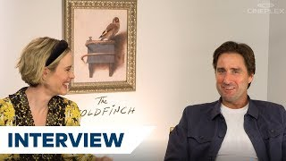 Luke Wilson And Sarah Paulson On What To Expect In The Film Adaptation Of The Goldfinch | TIFF 2019