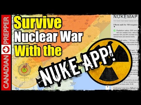 Nuke Map: Interactive Nuclear Bomb Map