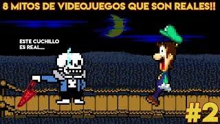 8 Mitos Increíbles de Videojuegos que Terminaron Siendo Reales (PARTE 2) - Pepe el Mago