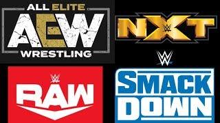 Weekly Wrestling Recap 10/14/2019-10/18/2019 Episode 1