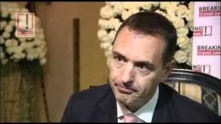 Stephan Schupbach, GM, Zabeel Saray, Jumeirah Hotels @ ATM 2011