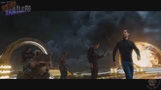 Смешной трейлер фильма 'стражи галактики 2'