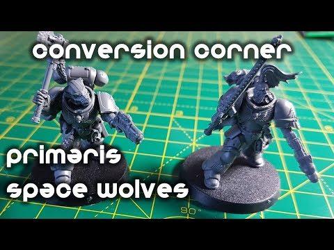Space Wolves Primaris Heroes - Conversion Corner