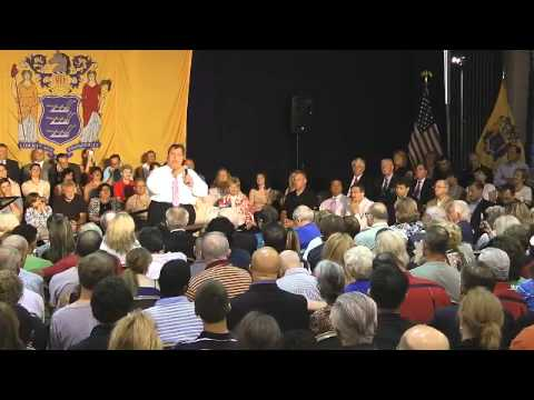 Entire Gov. Christie Mahwah NJ Town Hall Meeting June 27, 2012