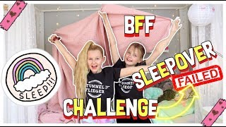 BFF SLEEPOVER & SKYDIVING CHALLENGE *failed | MaVie Noelle Vlog