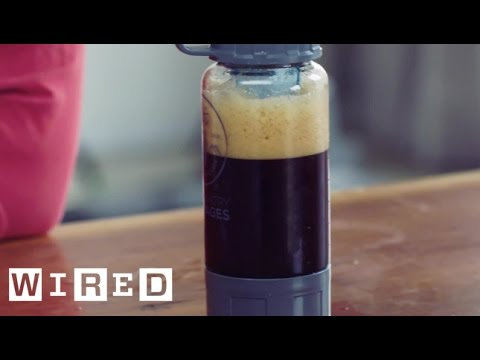 Make A Cold Beer On a Mountain Top With This Clever Kit