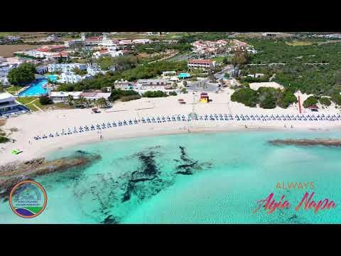 Landa Beach Ayia Napa April 2019