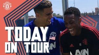 Martial Jokes with Pereira, Plus Gary Oldman Interview! | Today On Tour | USA Tour 2018 Live on MUTV