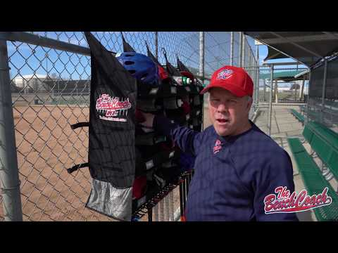 The BenchCoach - The Ultimate Dugout Organizer For Baseball And Softball Teams