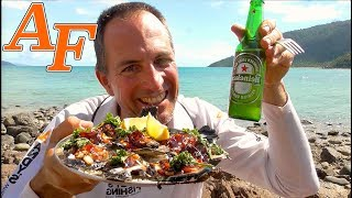 Quick Easy Oysters Kilpatrick Catch and Cook EP.433