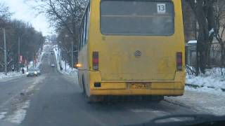 Lviv, Bus, Part 2: Flashing Signal