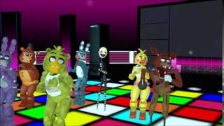 - MMD x FNAF Timber Animatronic Version