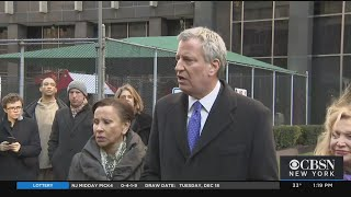 Mayor de Blasio Meets With HUD About NYCHA