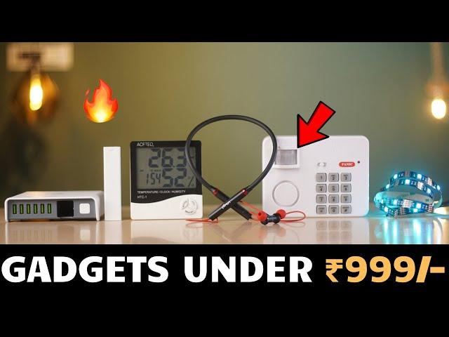 Unique Gadgets Under Rs 999/- | Part 67 | Tech Unboxing 🔥