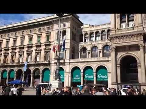Galleria Vittorio Emanuele and The Duomo Milan, Italy