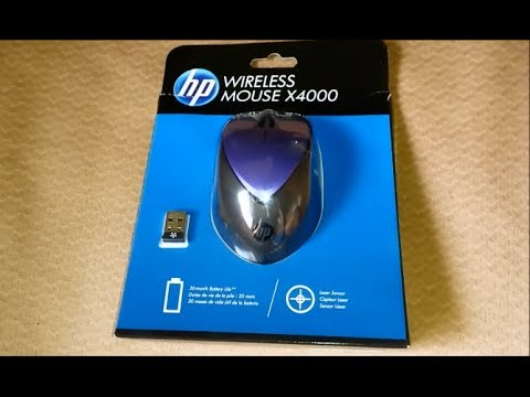 HP MOUSE X4000 DRIVER PC