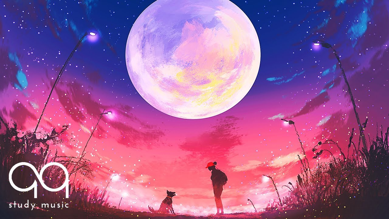 Relaxing Music Moon And Stars 2 Hours Of Moon Background Music To Help You Relax Youtube