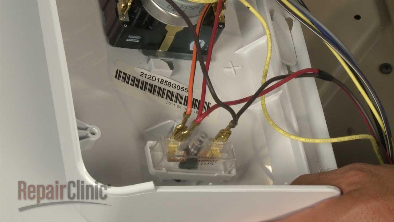GE Gas Dryer Won't Start? Replace Start Switch #WE4M416