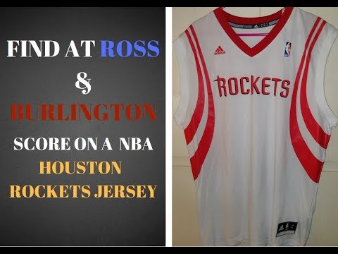 Trip to Ross & Burlington  AT Anaheim * Houston Rockets NBA Jersey $6.99 AT Ross *  #146