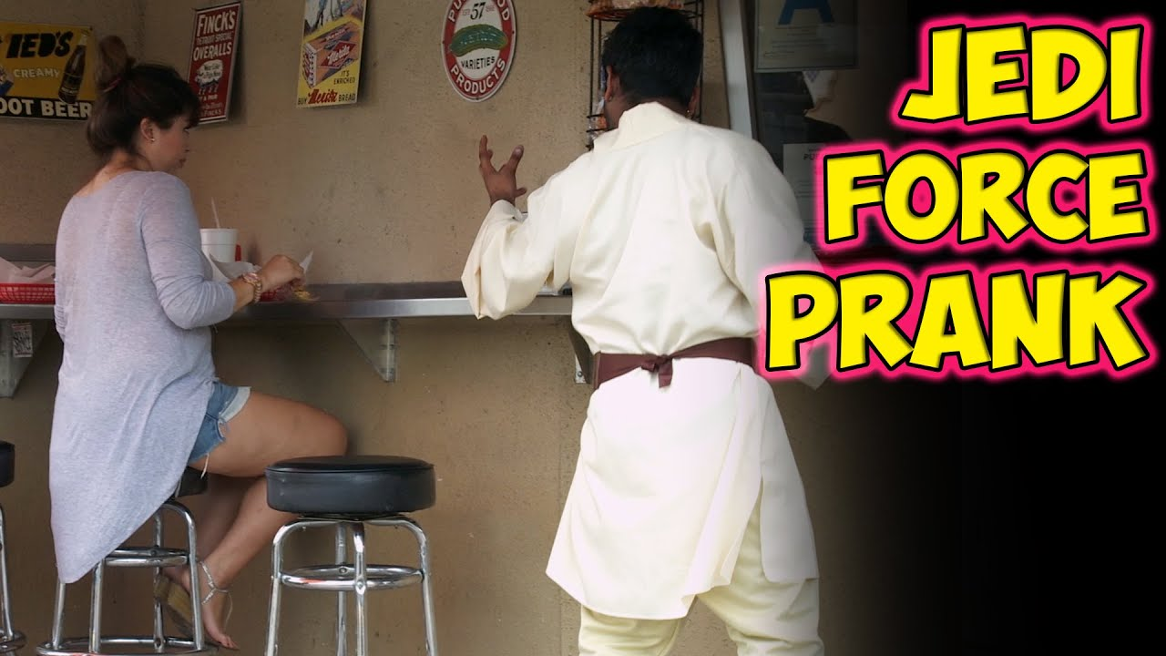 Jedi Force Prank