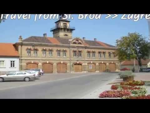 Travel from Slavonski Brod to Zagreb.