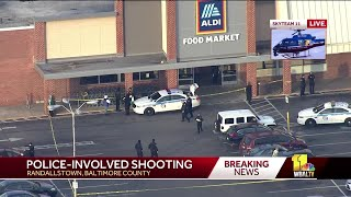 Police investigating after officer shoots man in Aldi's store