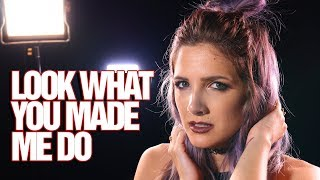 Video Taylor Swift - Look What You Made Me Do - Rock cover by Halocene download MP3, 3GP, MP4, WEBM, AVI, FLV Januari 2018