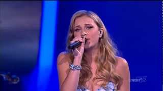 The Voice Australia, Live Finals, Brittany Cairns Sings Different Worlds 2012 05 21.ts