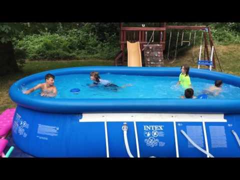 A Pool Full of Crazy Boys