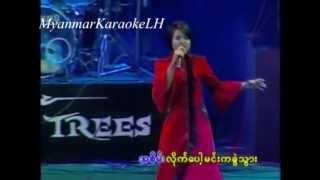 A Chit Tae Lar အခ်စ္တဲ႔လား- Phyu Phyu Kyaw Thein ျဖဴျဖဴေက်ာ္သိန္း Karaoke