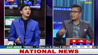 Lukanand Kshetrimayum-Youngest Filmmaker of Manipur on Manung Hutna 19 December 2015
