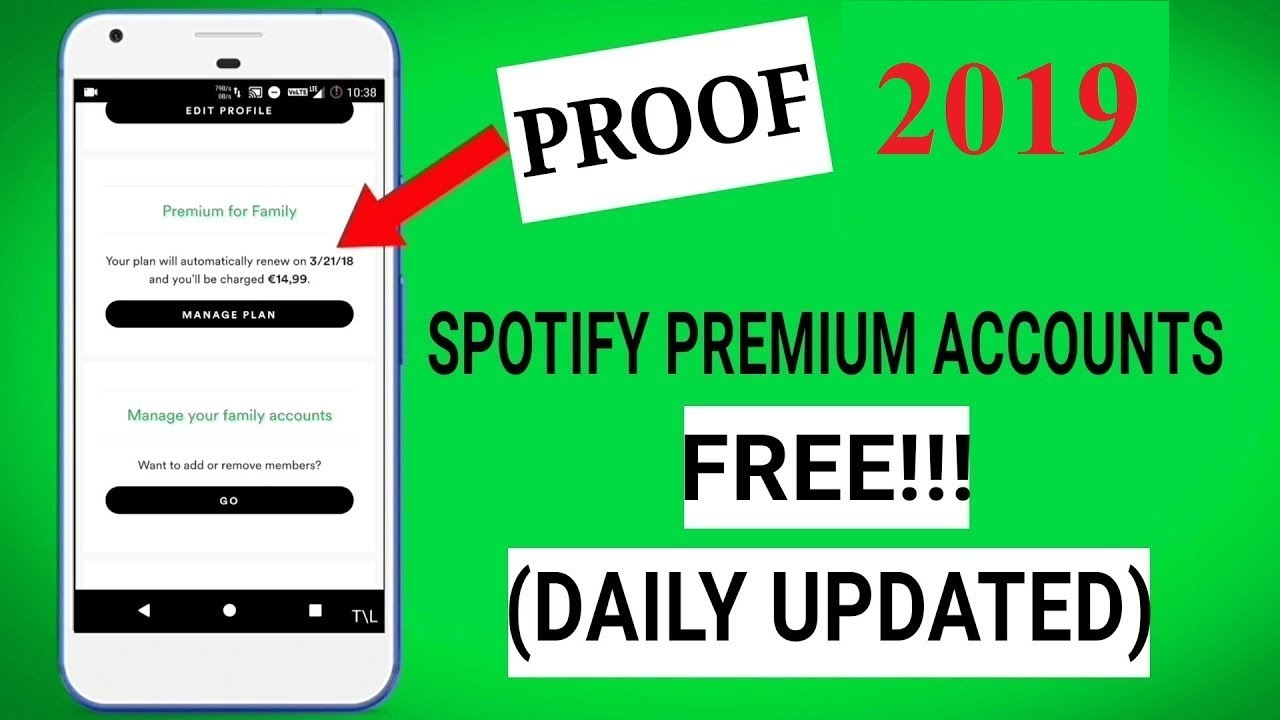How to get Spotify Premium for FREE-Free Spotify Premium iOS Android 2019