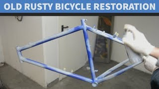 Salvage Bike Restoration Project | 20 Years Old Bicycle Restoration Project | Part 2