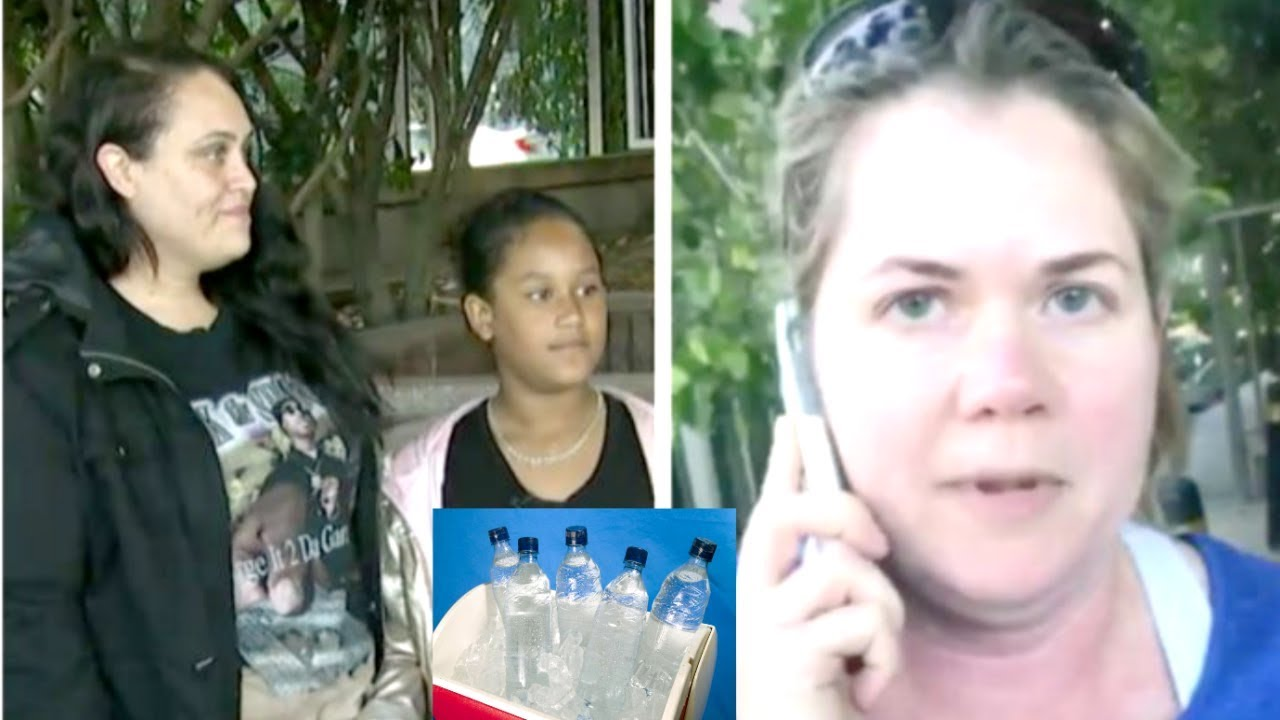 California Woman Called The Police On A Little Girl For Selling Water For A Trip.