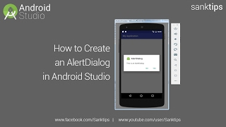How to Create AlertDialog in Android Studio | Sanktips