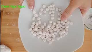 Cách làm trân châu trắng bằng bột năng cực đơn giản