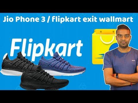 Jio Phone 3, Walmart Exit from FlipKart, Oppo K1, Xiaomi Shoes 2, Tech Prime #230 - 동영상